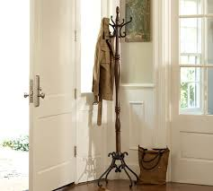 Coat Rack For Entryway Moran Coat Rack Pottery Barn 2