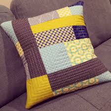 Quilted Pillows Tutorial: Walking Foot Quilting   Sew Mama Sew & ... to see how it adds texture to patchwork. Adamdwight.com
