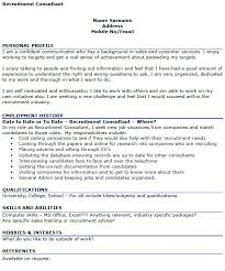 good cv template recruitment consultant cv example icover org uk