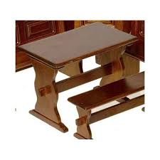 dollhouse kitchen furniture. Exellent Furniture Dollhouse Kitchen Nook Walnut Trestle Table  Miniature Furniture  Superior Miniatures In I