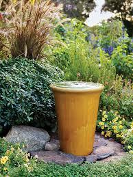 Patio Fountain Designs Great Garden Fountain Ideas Sunset Magazine