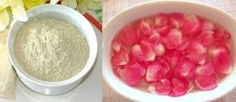 Image result for multani mitti and rose water