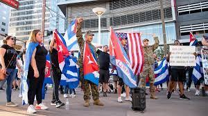 Cuban community rallies for 'Cuba Libre ...