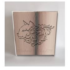 Book Folding Patterns Cool Cat 48 Cut And Fold Book Fold Pattern Book Folding Patterns And