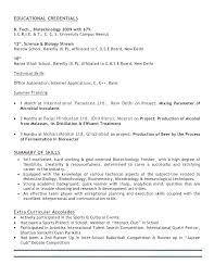 Biotech Resume Sample Best of Biotech Resume Template Biotech Resume Sample Plant Biotechnology