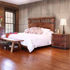 Parota Urban Rustic Bedroom Collection IFD2020-BED-Q