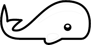 Small Picture Whale Coloring Pages Clipart Panda Free Clipart Images