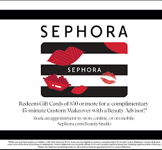 receive a makeover from sephora