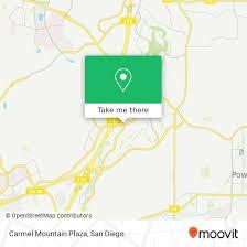to carmel mountain plaza in san go
