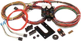 painless performance products all models parts electrical and painless 21 circuit universal chassis harness out column ignition switch