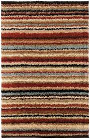 striped rugs gradated rug blue and white