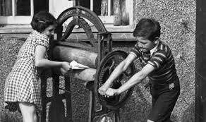 Image result for the old mangles for washing