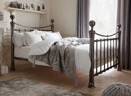 If you're looking for a grand superior bed, the Nelson metal bed frame