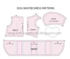 Dog Costume Patterns New Dog Outfits Patterns Take The Dogs Out