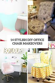 stylish office chairs for home. Stylish Diy Office Chair Makeovers You Can Realize Shelterness Cover Chairs For Home Clear Plastic Mat S