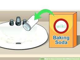 cleaning overflow drain bathroom sink how to clean bathroom trendy bathroom sink cleaner image titled clean