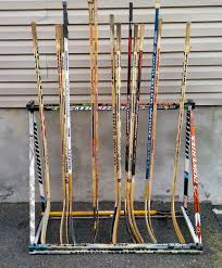 Hockey Stick Coat Rack Extraordinary Coat Rack Hockey Stick Builds