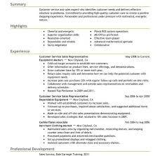 Patient Service Representative Resume Template Resume Builder