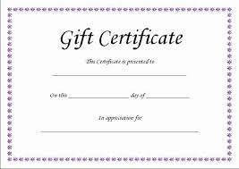 Store Gift Certificate Template Store Gift Certificate Template Design And Print Certificates Online
