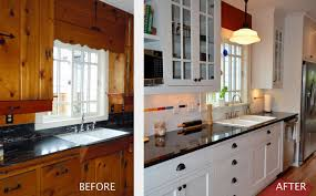 be inspired for the next project with before after kitchen remodels knotty pine cabinetsknotty