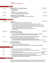Architect Resume Samples Inspirational 51 Super Resume Template