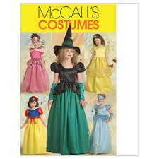 Mccalls Costume Patterns Inspiration McCall's Children'sGirls' Princess And Witch Costumes Pattern M48