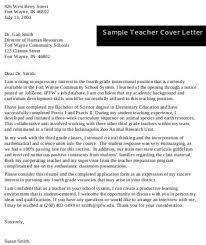 primary teacher application
