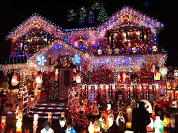 Small Picture House Decorated With Christmas Lights Home Decorating Ideas