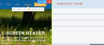 Online Menu Creator Drop Down Menu In The Nav Bar In Mobile Site Creator