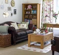 L Shaped Living Room White Pattern Cushions Apartment Living Room Ideas On A Budget