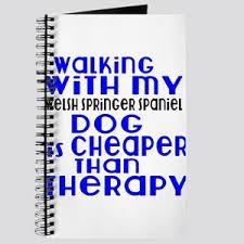 walking journal walking with my english cocker spaniel funny desi notebooks cafepress