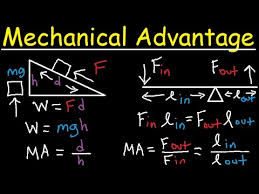 mechanical advantage simple machines lever ramp work force  mechanical advantage simple machines lever ramp work force power energy physics problems