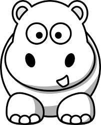 Baby Hippo Coloring Pages With Dt48r9e7c 7 And Free Cartoon Pictures