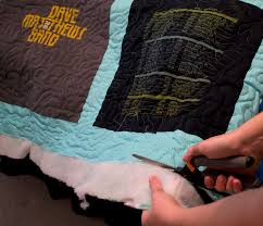 remember when i mentioned leaving the side seam in a shirt to keep the design that quilt square is below it blends in really well