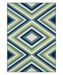love this product green blue geometric baja indoor outdoor rug