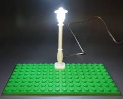 lego lighting. LED Lamp - Light Up Street Black Or White Post With Battery USB Lego Lighting
