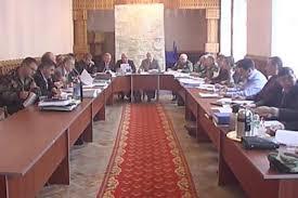 Объединенная контрольная комиссия обсудила деятельность  Объединенная контрольная комиссия обсудила деятельность правоохранительных органов и военных комендантов