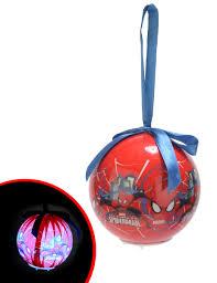 Spiderman Christmas Lights Spiderman Christmas Light Up Ball 3