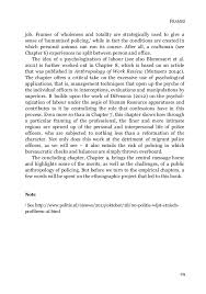 a public anthropology of policing law enforcement and migrants in t