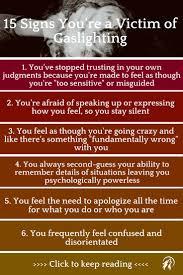 You\u0027re Not Going Crazy: 15 Signs You\u0027re a Victim of Gaslighting ...