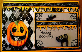 halloween birthday greeting country lady designs a halloween birthday card
