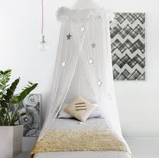 smart use of canopy bed drapes. Amazon.com: Boho \u0026 Beach Bed Canopy Mosquito Net Curtains With Feathers And Stars For Girls Toddlers Teens, White: Home Kitchen Smart Use Of Drapes E