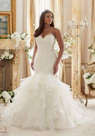 plus size lace meets organza wedding dress style 3201 morilee