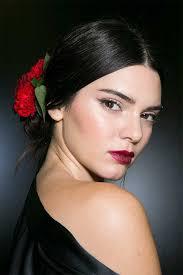 kendall jenner makeup tutorial dolce gabbana runway inspired fws2016 you