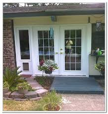sliding glass door with dog door sliding glass door pet door french doors with dog door