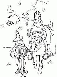 Kids N Fun 38 Kleurplaten Van Sinterklaas Kleurplaat Sinterklaas