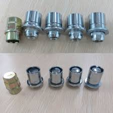 Toyota Tacoma Bolt Pattern Unique M48 4848 Metal Wheel Lug Strength Lock Nuts For Toyota Tacoma