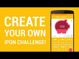 Ipon Challenge Chart My Ipon Challenge Piggy Bank Savings App Apps On