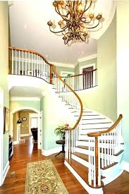 2 story foyer chandelier lighting tray ceiling and how high to hang in