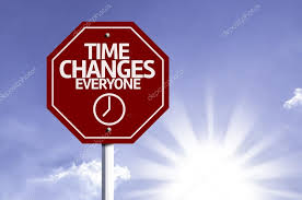 Image result for time changes